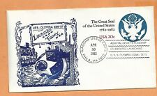 U.S.S. OLYMPIA LAUNCHED APR 30,1983 NAVAL COVER