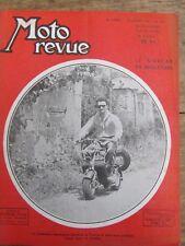 ANCIENNE REVUE MOTO REVUE N° 992 JUILLET 1950 LE SIDE CAR EN ANGLETERRE