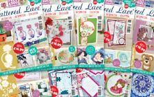 BRAND NEW Tattered Lace Magazines **  CLEARANCE ** FREE DIES & FREE P&P!