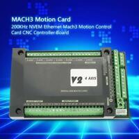 NVUM CNC MACH3 4 Axes Carte de Mouvement Ethernet Interface de Contrôleur 200KHz