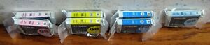 Genuine Epson 98 High-Capacity Color Ink Cartridges Lot Of 7 Sealed Wrappers