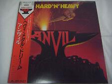 ANVIL-Hard 'N' Heavy JAPAN 1st.Press w/OBI Rush Iron Maiden Metallica Scorpions