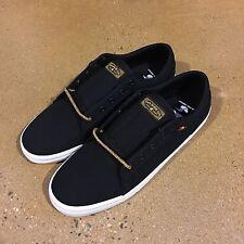 DVS Aversa Men's Size 10 US Black Rasta Canvas BMX DC Skate Militia Milan Shoes