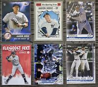 ⚾️Aaron Judge 6-CARD LOT including ROOKIE 2017 Topps Bunt #20, New York Yankees