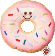 """ETHICAL SPOT ULTRA SOFT PLUSH FUN DONUT RING 5.25"""" DOG TOY. FREE SHIP TO THE USA"""