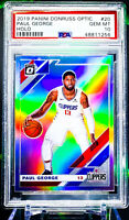 2019-20 Donruss Optic PAUL GEORGE HOLO Prizm * 1st Clipper Optic * PSA 10 🔥🔥🔥