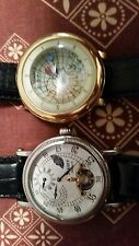 ONLY GOLDEN IS AVAILABLE !Vintage Stauer Automatic Men's Wristwatch Round GOLD