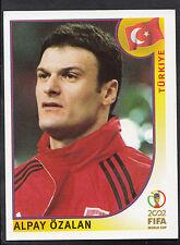 Panini Football - World Cup 2002 - Sticker No 192 - Turkey - Alpay Ozalan (GD)