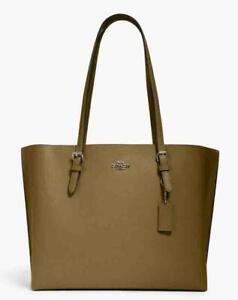 Coach Mollie Tote Kelp Black (Olive) Crossbody Shoulder Bag Handbag Purse NWT