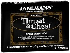 Jakemans Throat - Chest Lozenges Anise Menthol 24 Each