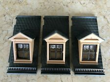 PLAYMOBIL: Victorian Mansion -- 3 Roof pieces with Dormers (no finials).