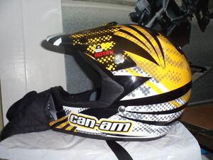 NOS Can Am Spyder ATV Motocross Snowmobile Rotax Helmet 4474070601