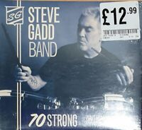 STEVE GADD BAND -  70 STRONG (CD) New Sealed