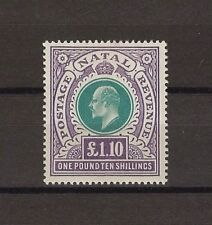 SOUTH AFRICA/NATAL 1902 SG 143 MINT Cat £600