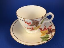 Handpainted Delphine Bone China Tea Cup And Saucer- Three sets available