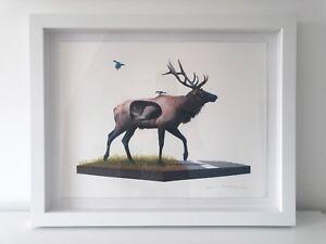 Josh Keyes Incubate Framed Print