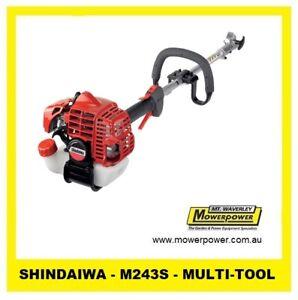 SHINDAIWA - MULTI TOOL - M243S 23.9CC - FITS M230 ATTACHMENTS - POWERHEAD