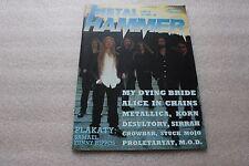 Metal Hammer 11/1996 My Dying Bride, Alice In Chains, Metallica, Samael, Korn
