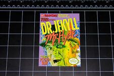 Dr Jekyll and Mr Hyde NES box art retro video game decal sticker nintendo avgn