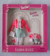 Barbie Fashion Avenue Matching Styles Kelly Doll Clothes 1996 - Mint in Box