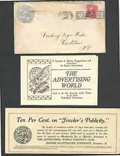 DATED 1999 COVER COLUMBUS OH HARPER ILLUSTRATING SYNDICATE ADV NEWS & IDEAS 3PCS