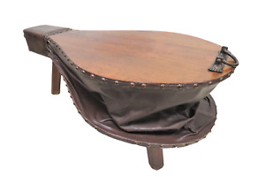 Vintage French Blacksmith's Bellows Coffee Table