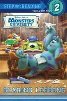 Scaring Lessons (disney/pixar Monsters University) (step Into Reading): By RH...