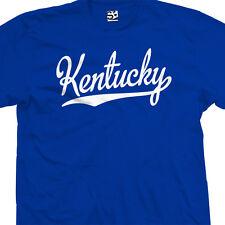 Kentucky Script Tail T-Shirt - Star Sports Team Wildcats - All Sizes & Colors
