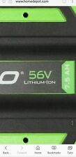 Ego Power+ Ba4200 56V 7.5Ah Lithium-Ion Rechargeable Battery For Ego Power Tools
