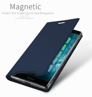 DD For Sony Xperia XZ3 PU Leather Flip Case Wallet Smart Magnetic Skin Cover