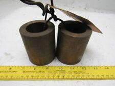 Wysong Model 120 Pneumatic Shear Blade Shaft Brass Bearing Bushings Lot Of 2