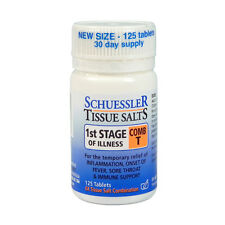 SCHUESSLER Combination T Tissue Salts 125 tablets comb 1st STAGE OF ILLNESS