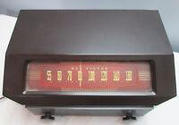 Vintage Ca. 1949 RCA VICTOR Tube Radio Model 9X641, BAKELITE Case Works