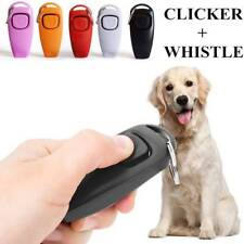 Pet Dog Training Whistle Clicker Pet Dogs Cats Trainer Aid Guide Dog Products F