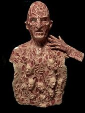 Freddy Inferno Part 4 2.0 Silicone Krueger Mask, Chest Of Souls And Hand by Wfx