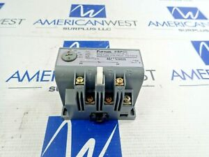 FURNAS ESP 100 48ASS3M20 OVERLOAD RELAY 100-210 AMPS TRIP CLASS 20