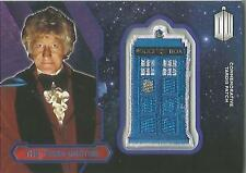 "Topps Doctor Who 2015 - ""The Third Doctor"" PURPLE Tardis Patch Card #21/99"