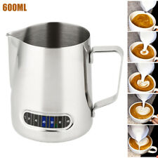 Stainless Steel Milk Frothing Jug Mug Cup Coffee Latte Pitcher Barista Craft Cup