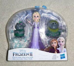 Frozen 2 Small Doll and Friends  - Elsa & Trolls