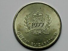 CANADA Queen Elizabeth II 1952-1977 Silver Jubilee Medal with BC Coat of Arms