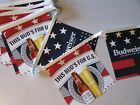"""New 22' Budweiser """"This Bud's For You Beer String Banners Vinyl sign"""