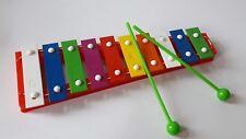 Kinder Xylophon Glockenspiel 10 Klänge Musik erste Instrument Spielzeug NEU