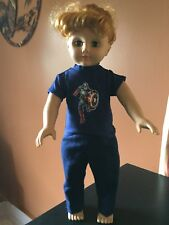 AMERICAN GIRL SIZE FUN CAPTAIN AMERICA PLAY SET FOR YOUR FAVORITE 18' DOLL