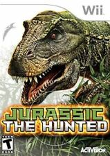 Jurassic: The Hunted (Nintendo Wii, 2009) LN WITH Manual & LOW SHIPPING RARE HTF