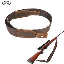 Correa de tiro escopeta Rifle Sling Tourbon ajustar Cuero Hebilla de liberación rápida