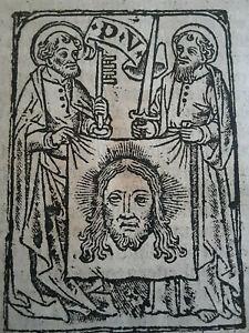 Anno 1520 Drei sehr seltene Werke in einem Band / Mittelalter Post Inkunabel
