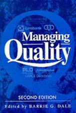Managing Quality,Barrie G. Dale, J.J. Plunkett- 9780135551455