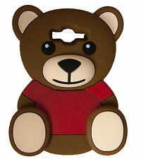 BROWN Super Cute Bow Bear Soft Silicone Case for Samsung Galaxy Grand Prime