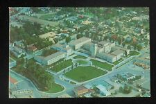 1950s Aerial View of the State Capitol Gas Station Homes Buildings Santa Fe NM
