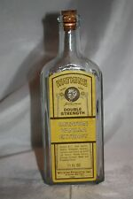 Vintage Watkins Double Strength Imitation Vanilla Extract Cork Top Bottle